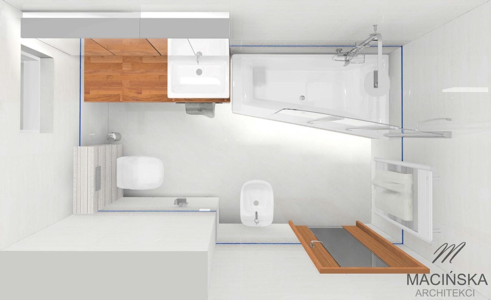 Aranżacja Małej łazienki Wanna Czy Prysznic 3 Macińska Architekci
