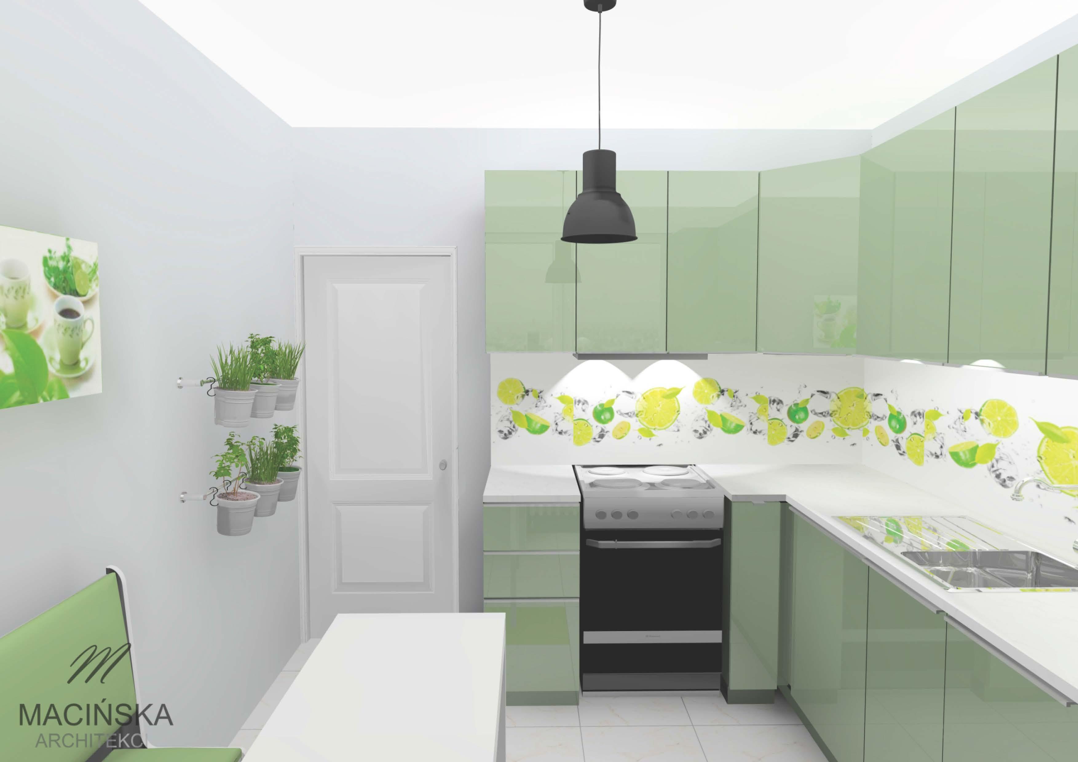 Meble Ikea W Małej Kuchni Macińska Architekci